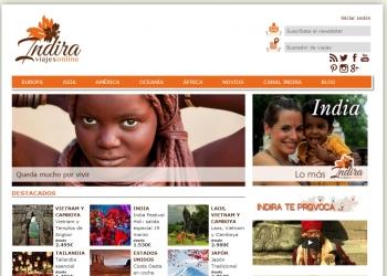 Indira Viajes web