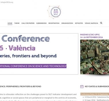 STI2016 Conference