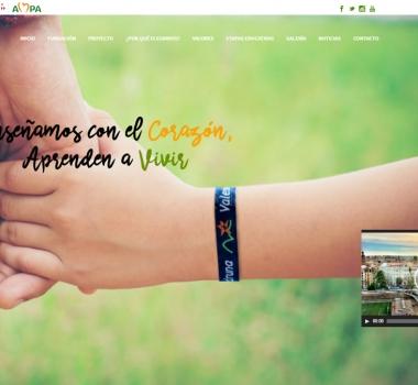 Web Colegio Sagrado Corazón Valencia